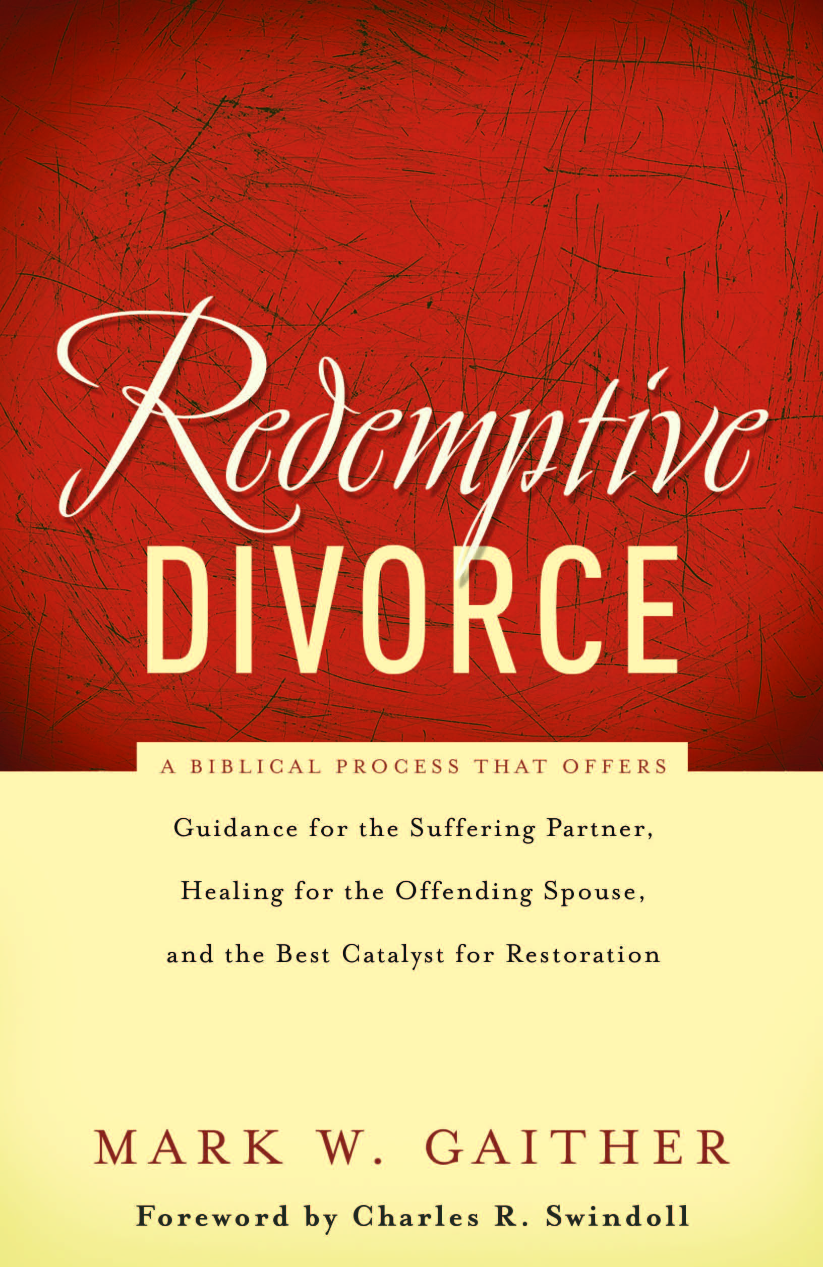 Redemptive divorce book mark w gaither solutioingenieria Images